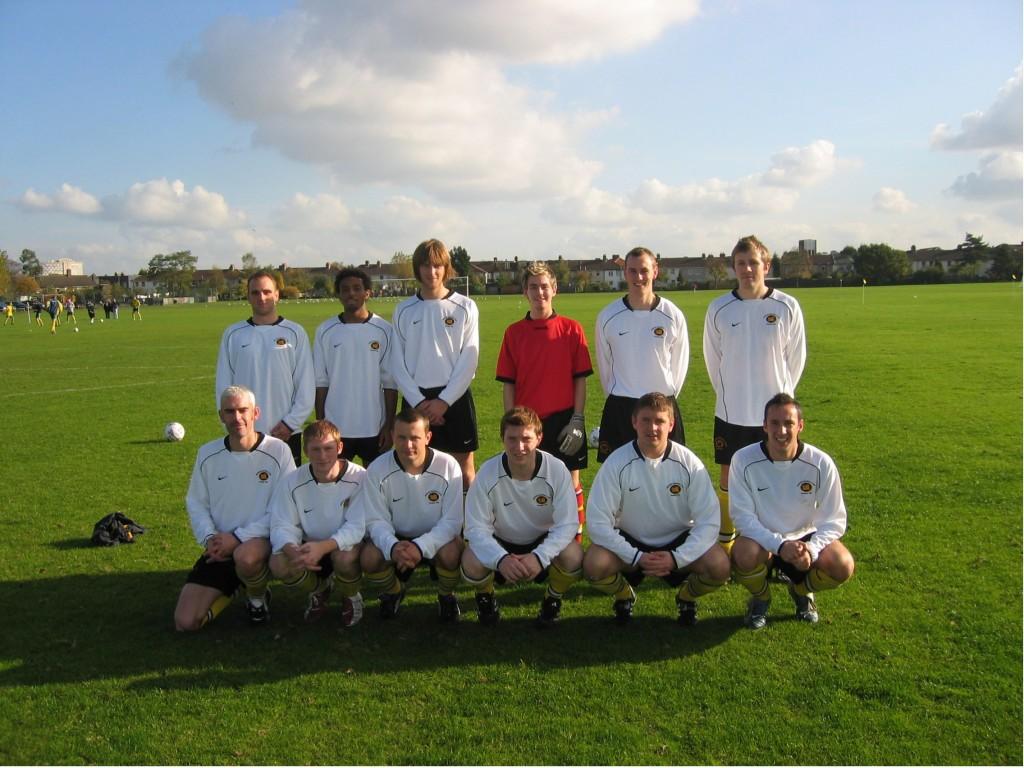 2004-05 1st XI unveil white kit