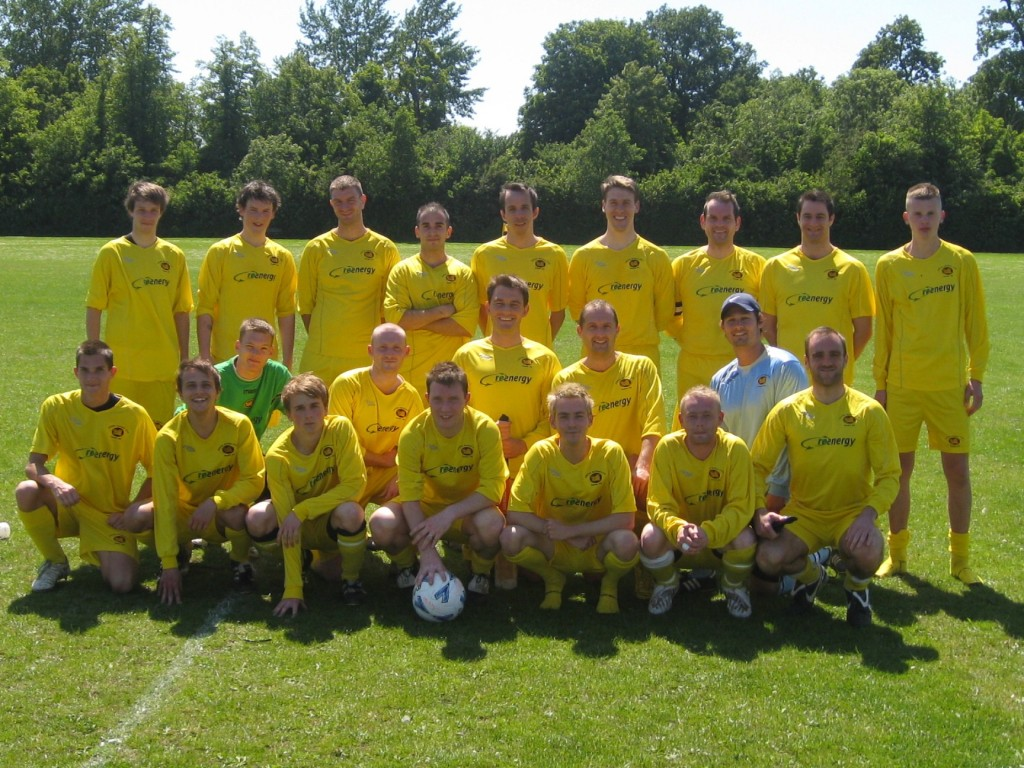2009 Merton squad vs dutch side