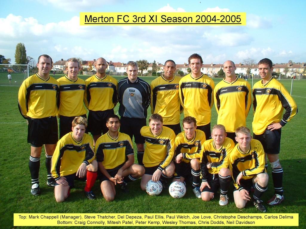 3rd XI 2004-05