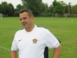 Under 12s Manager Steve Dewsbury